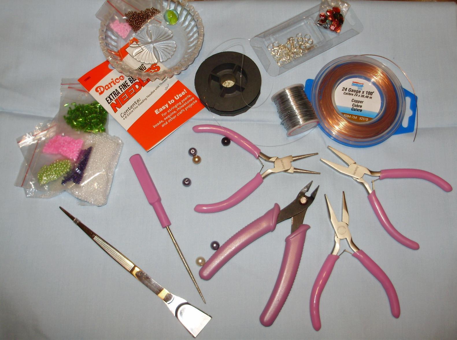 Какие инструменты нужны для изготовления бижутерии своими руками 28